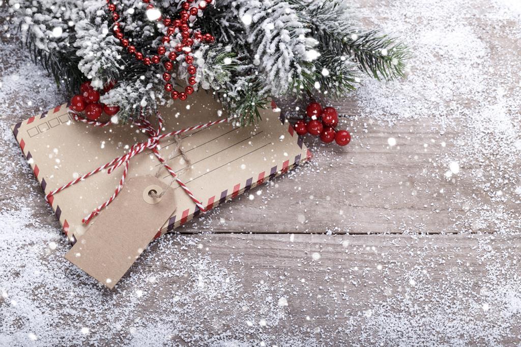 Koperta świąteczna